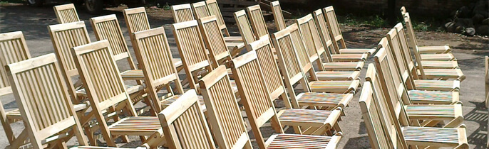 Buy Teak Outdoor Folding Chairs With Furniture Wholesaler Price