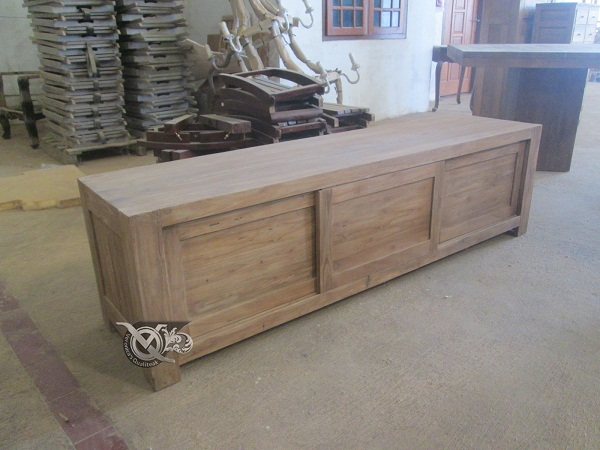 reclaimed teak furniture - credenza 1 a