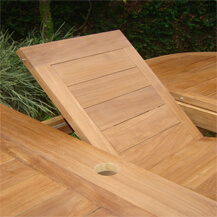 teak wood outdoor furniture table