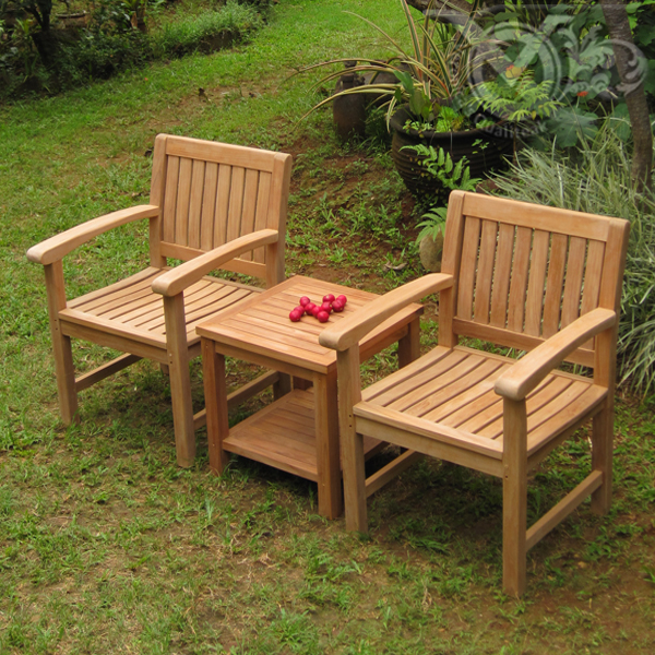 Qualiteak outdoor furniture teak outdoor chairs made by for Teak patio furniture