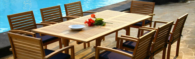 Outdoor Patio Sets From Indonesian Furniture Factory
