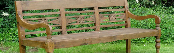 Teak Garden Bench For Convenience Homes