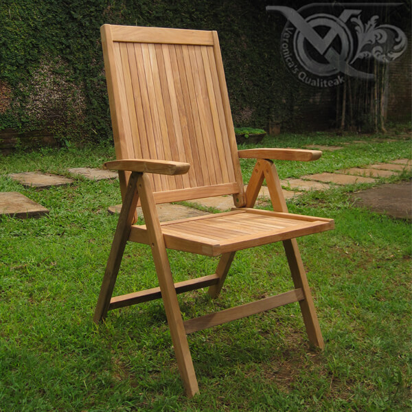 Teak Outdoor Reclining Chairs