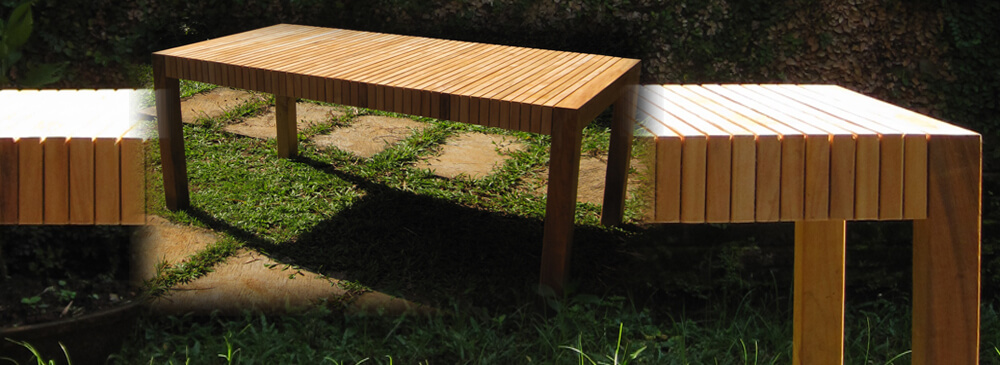 teak outdoor dining table design