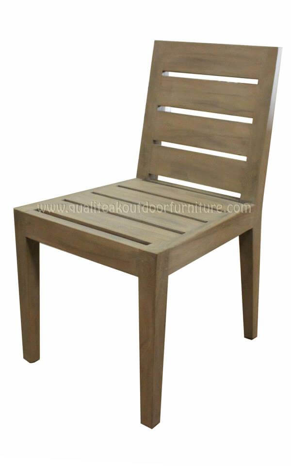 teak outdoor dining chairs simple