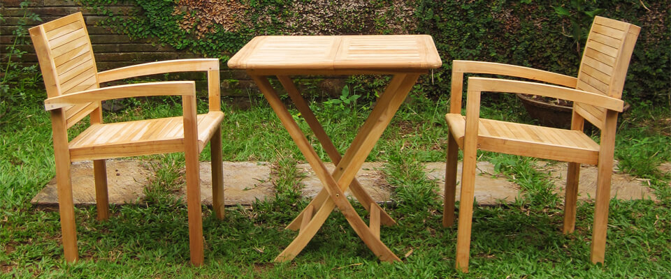 teak outdoor chairs for terrace