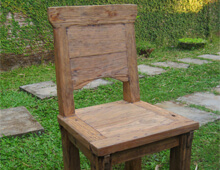 Teak reclaimed furniture