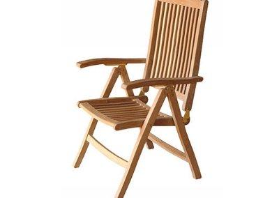 Akita Outdoor Reclining Chair