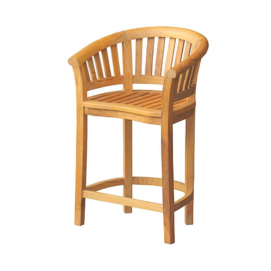 teak garden bar stools