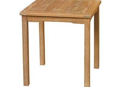 Classic Teak Bistro Table 80