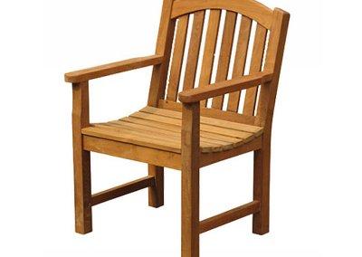 Garden Bow Back Arm Chair