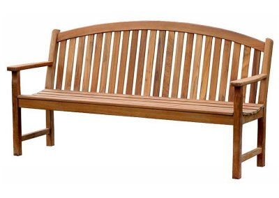 Outdoor Bow Back Bench 180