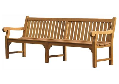 Teak Outdoor Long Bench Big Ben 240
