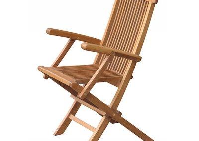 Classic Outdoor Folding Armchair