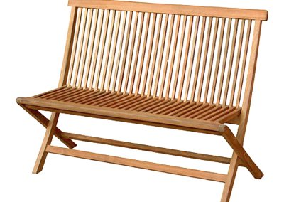 Classic Outdoor Folding Bench