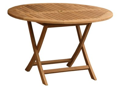 Classic Round Folding Table 120