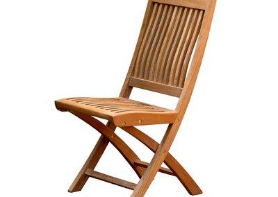 Teak Outdoor Kiffa Folding Chair