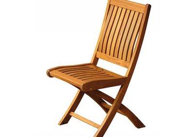 Kiffa Folding Chair Wide Slats