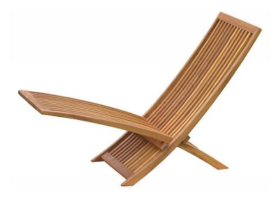 Teak Outdoor Kuta Deck Chair