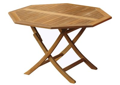 Octagonal Easy Folding Table