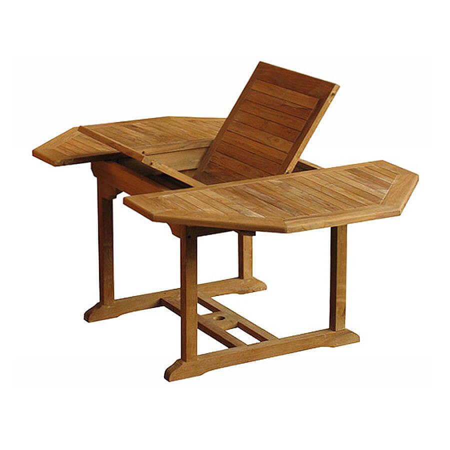 teak outdoor extension table