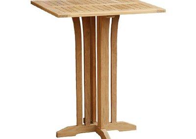 Teak Square Bar Table