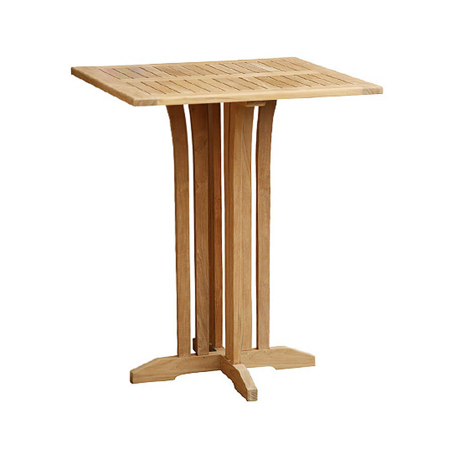 teak outdoor bar table