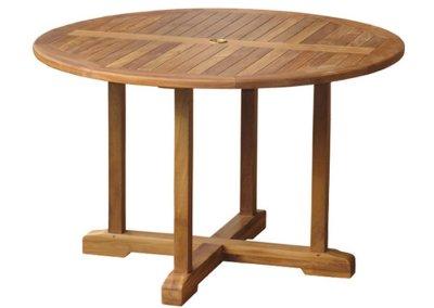 Semeru Teak Round Table 120