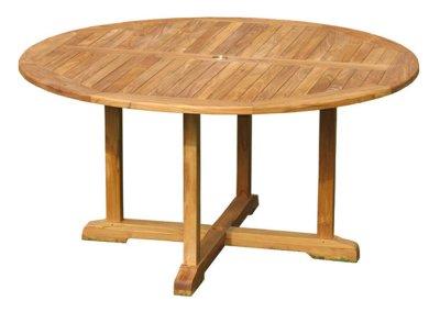 Semeru Teak Round Table 150