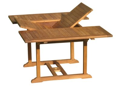 Teak Outdoor Square Extension Table