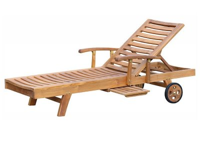 Madison Sun Lounger With Arm