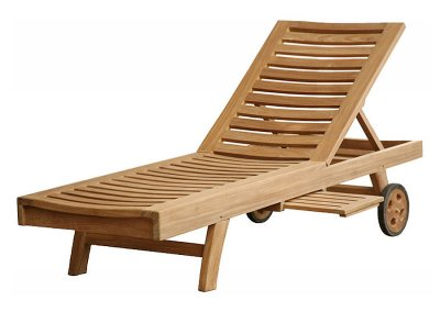 Teak Outdoor Madison Sun Lounger