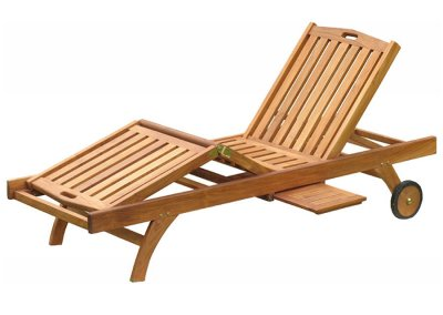 Teak Outdoor Richmond Sun Lounger