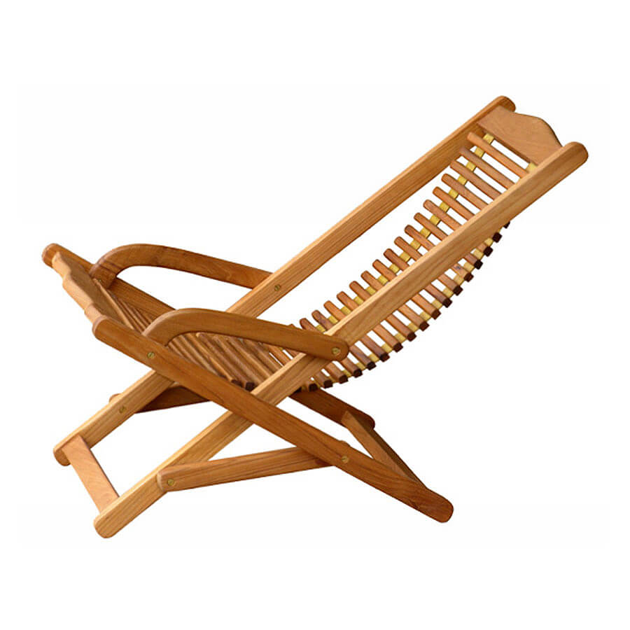 teak deck chair