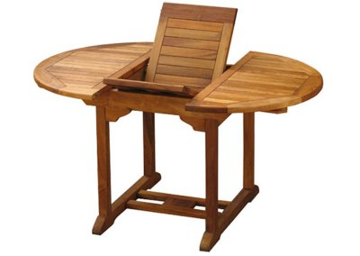 Teak Round Extension Table VX-06