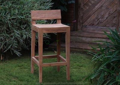 Moha Teak Reclaimed Bar Chairs