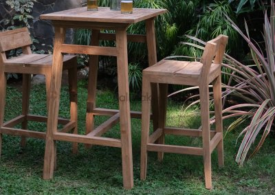 Moha Teak Reclaimed Bar Table