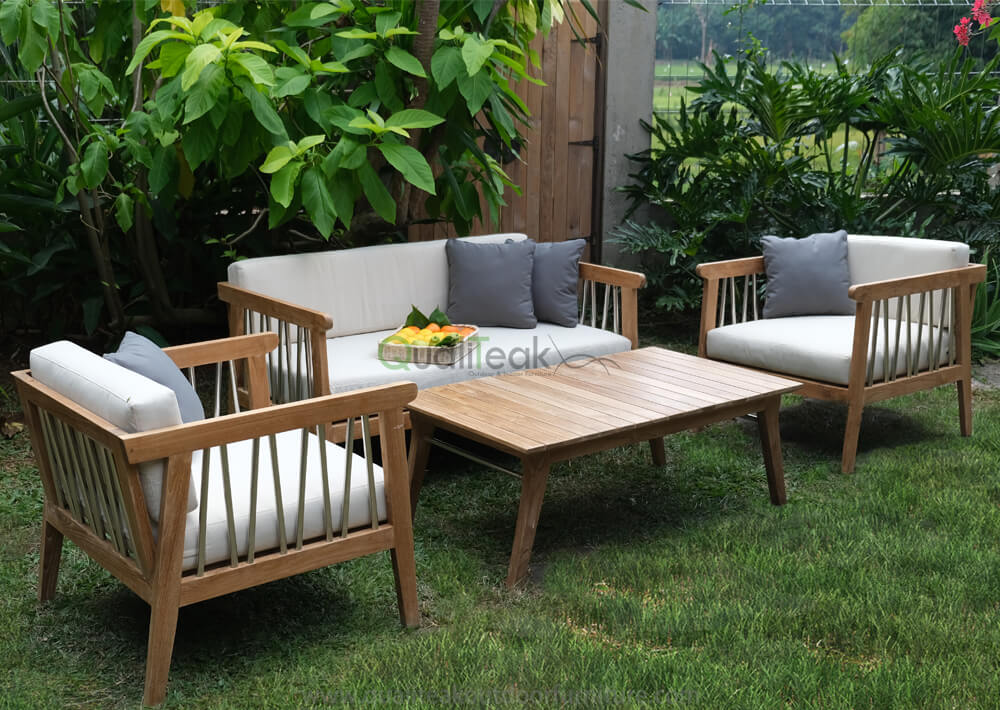 teak outdoor lounge sets