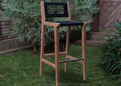 Teluk Teak Bar Chairs
