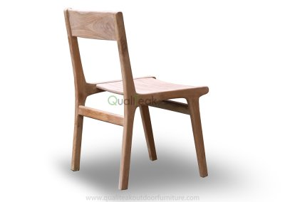 Teak Outdoor Dining Chair – Tempur