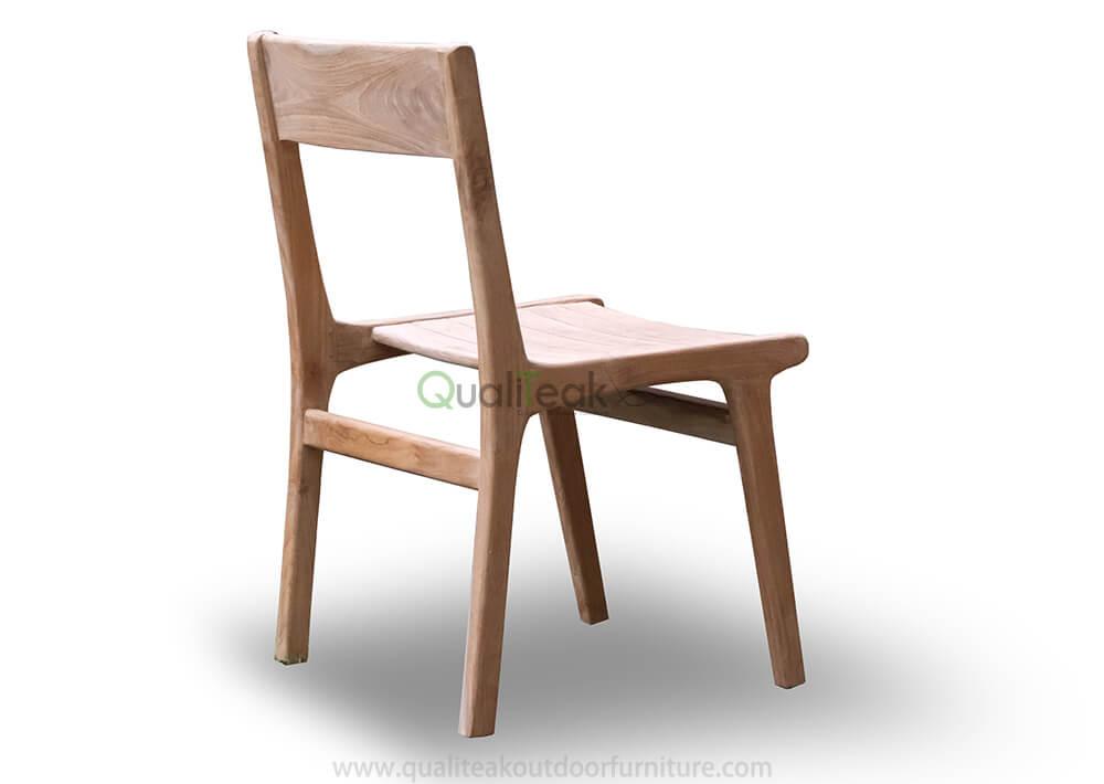 teak garden dining chair