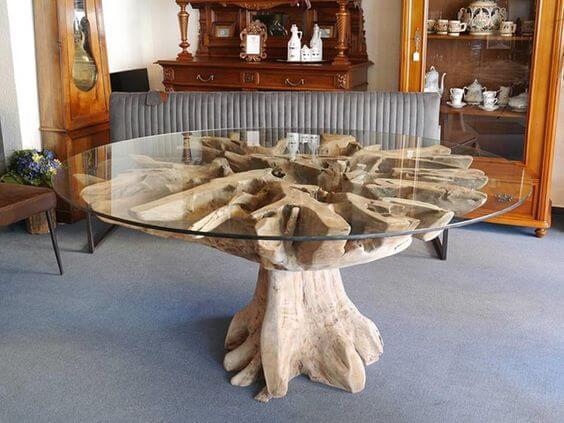 teak root furniture Indonesia